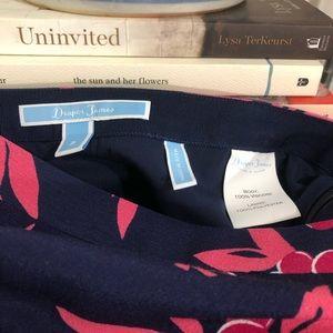 Draper James Skirts - DRAPER JAMES   floral printed cherry Ann skirt 2 S
